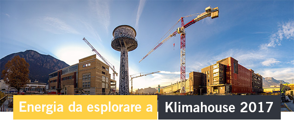 Energia da esplorare a Klimahouse 2017
