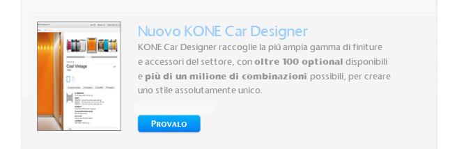 Nuovo Ascensore KONE MonoSpace 28