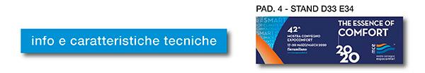 Info e caratteristiche tecniche - MCE 2020