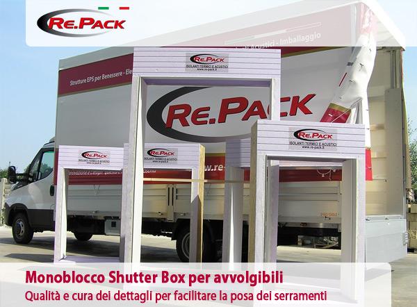 Monoblocco Shutter Box per avvolgibili