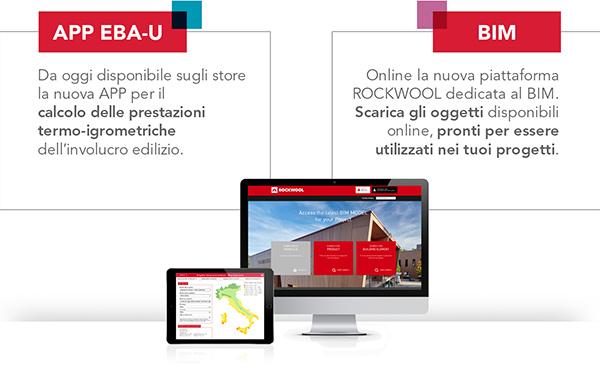 La nuova piattaforma BIM di ROCKWOOL, disponibile da oggi online, mette a disposizione dei progettisti una libreria di oggetti pronti per essere utilizzati nei vari progetti