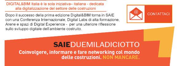 Digital&BIM Italia è la sola iniziativa italiana dedicata alla digitalizzazione del settore delle costruzioni. Contattaci