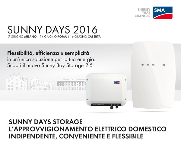 Sunny Days Storage 2016