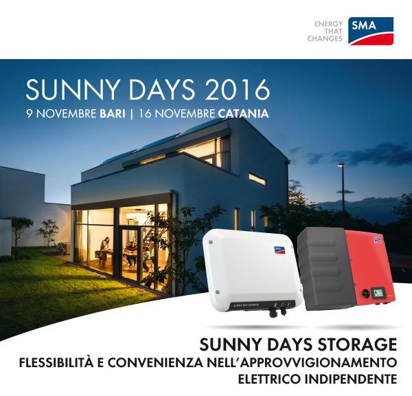 Sunny Days 2016 - SMA