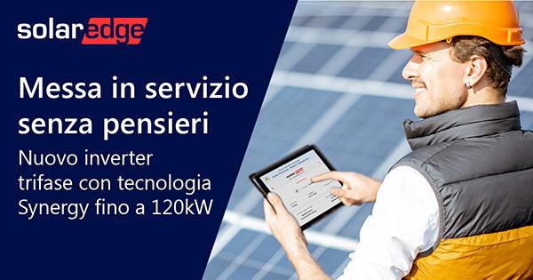 SolarEdge - Messa in servizio senza pensieri
