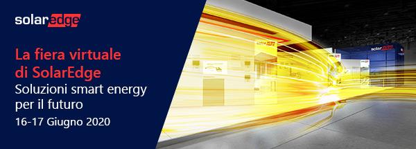 La fiera virtuale di SolarEdge. 16-17 Giugno 2020