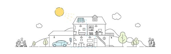 Casa a indipendenza energetica sonnen