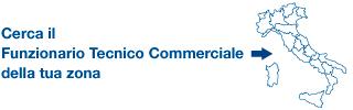 Cerca il Funzionario Tecnico Commerciale della tua zona
