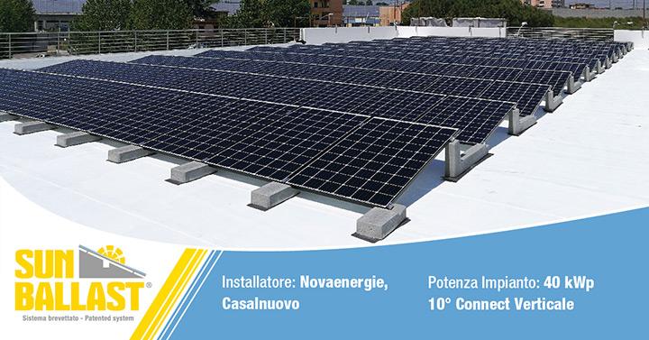 Sun Ballast - 10° Connect verticale