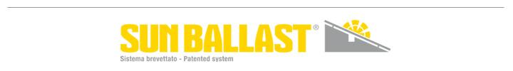 Sun Ballast - Sitema brevettato