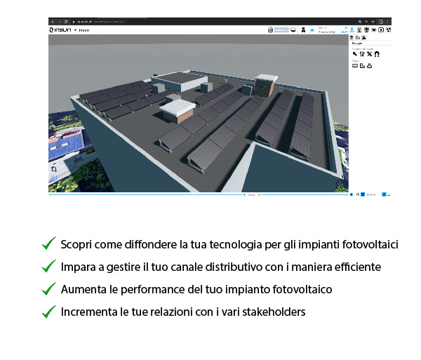 Webinar: Guida, gestisci e ottimizza le fasi di progettazione di un impianto FV con inSun. 25/08/2020 ore 14.30. Registrati ora