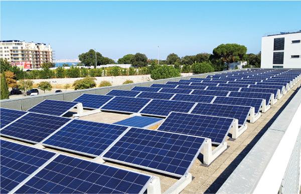 Impianto fotovoltaico: pesi ridotti, costi ridotti