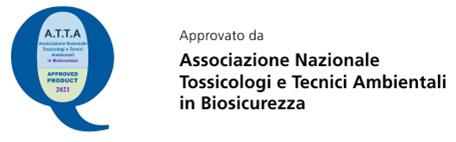 Approvato da Associazione Nazionale Tossicologi e Tecnici Ambientali in Biosicurezza