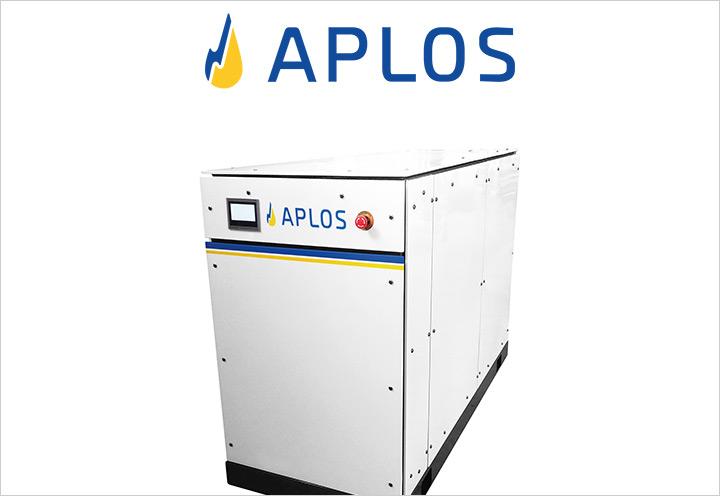 APLOS 20 microcogeneratore alimentato a gas metano o GPL - Universal Sun