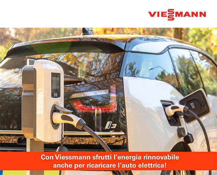 Con Viessmann sfrutti le rinnovabili anche per ricaricare l'auto elettrica!