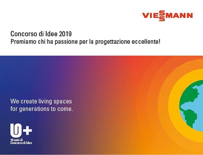 Viessmann - Concorso di Idee 2019. Premiamo chi ha passione per la progettazione eccellente!
