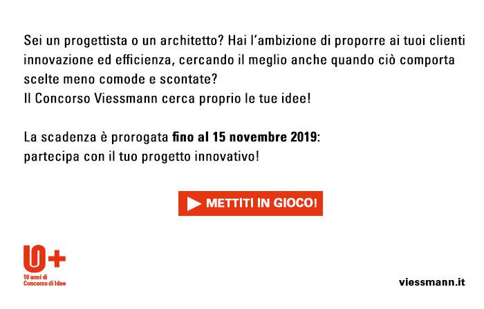 Sei un progettista o un architetto? Il Concorso Viessmann cerca proprio le tue idee! Mettiti in gioco