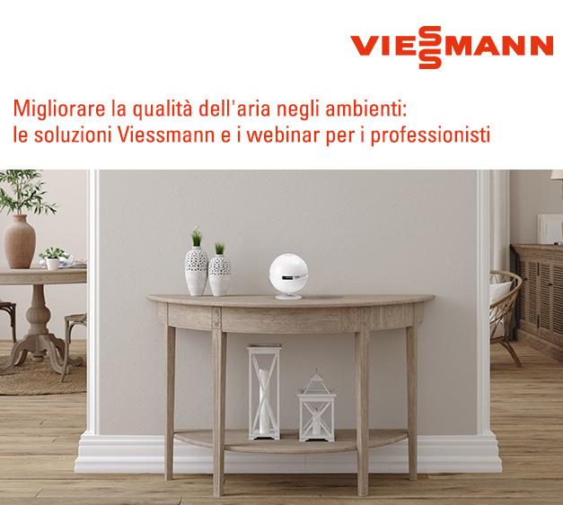 Migliorare la qualità dell'aria negli ambienti: le soluzioni Viessmann