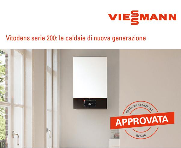 Viessmann - Vitodens serie 200: le caldaie di nuova generazione
