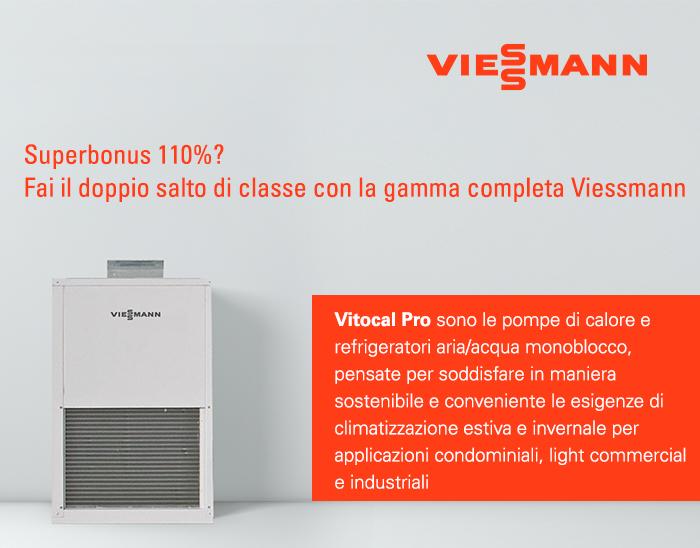 Viessmann - Superbonus 110%? Fai il doppio salto di classe con la gamma completa Viessmann