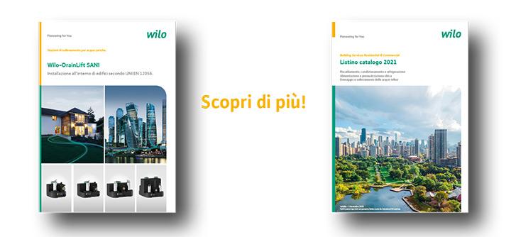 Wilo-DrainLift SANI: stazioni di sollevamento preassemblate 3